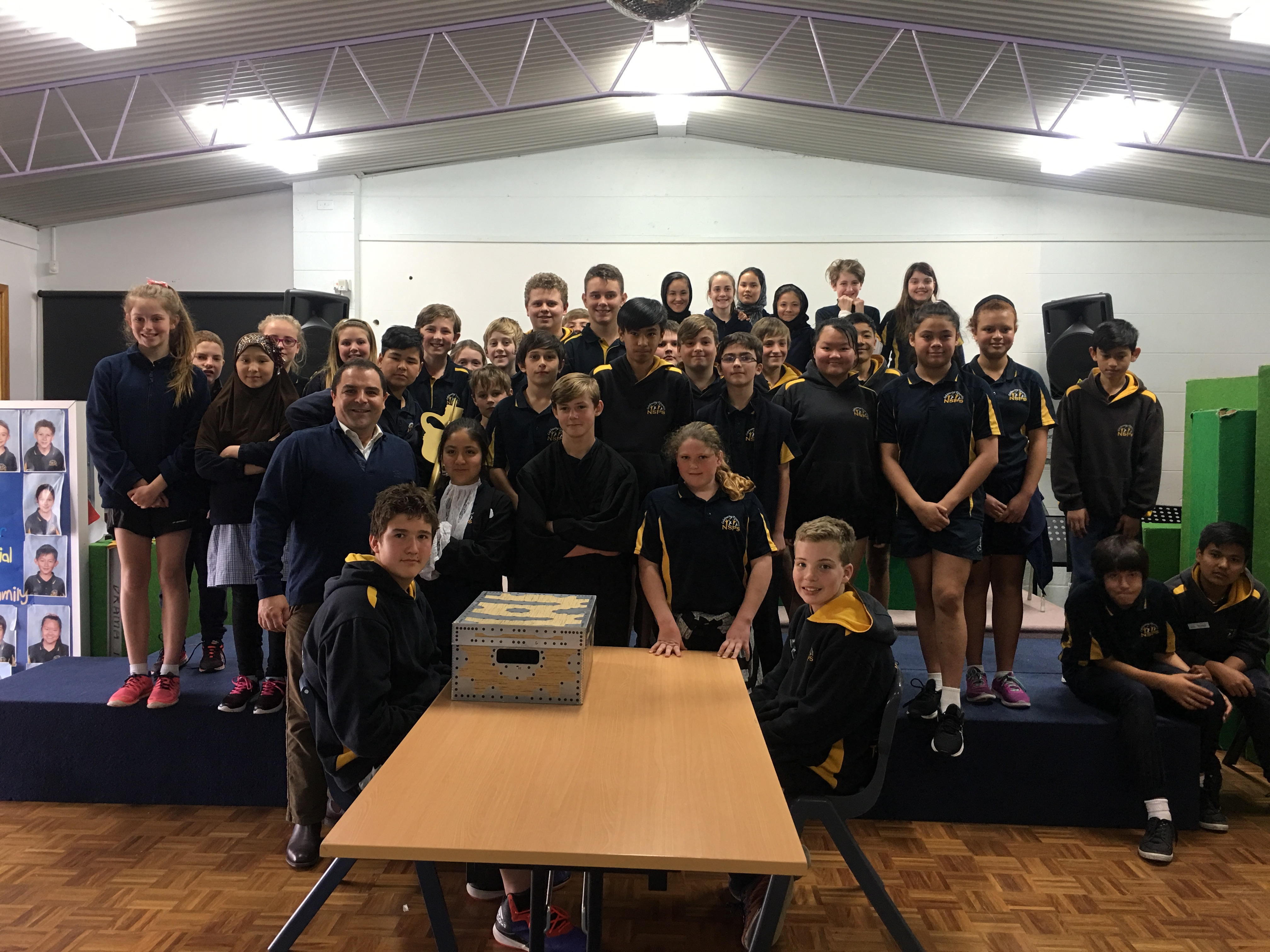 Naracoorte students get hands on lesson in parliamentary process