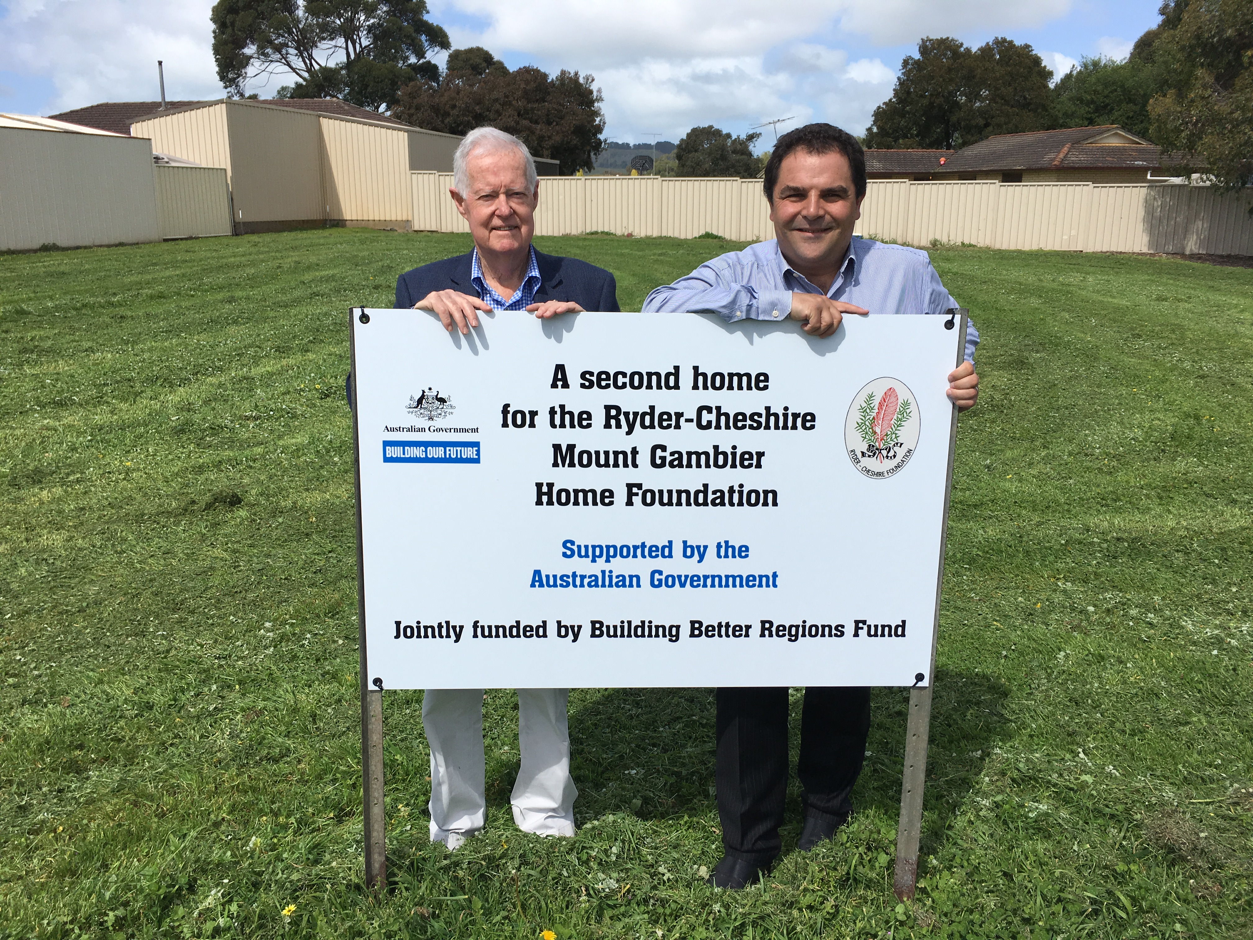 First sod turned on assisted living house in Mount Gambier