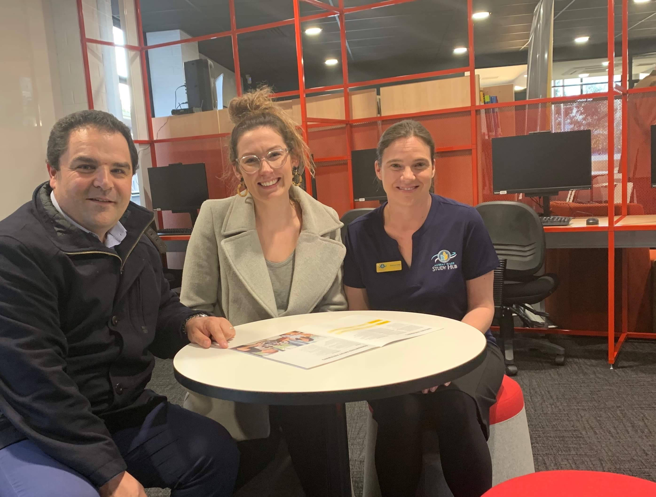 STUDY HUB OPENS FOR MURRAYLANDS STUDENTS