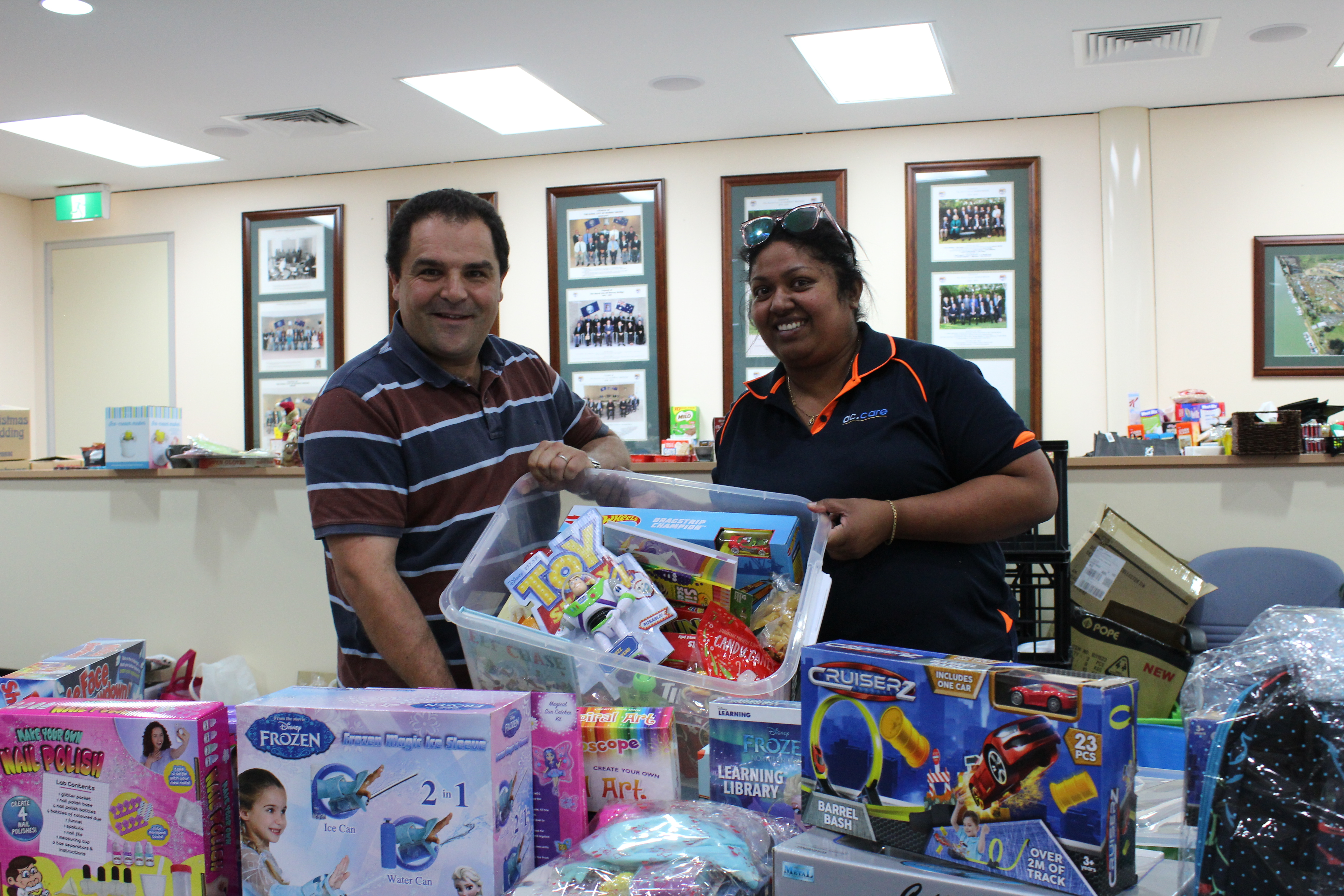 PASIN GIVES TO CHRISTMAS APPEAL