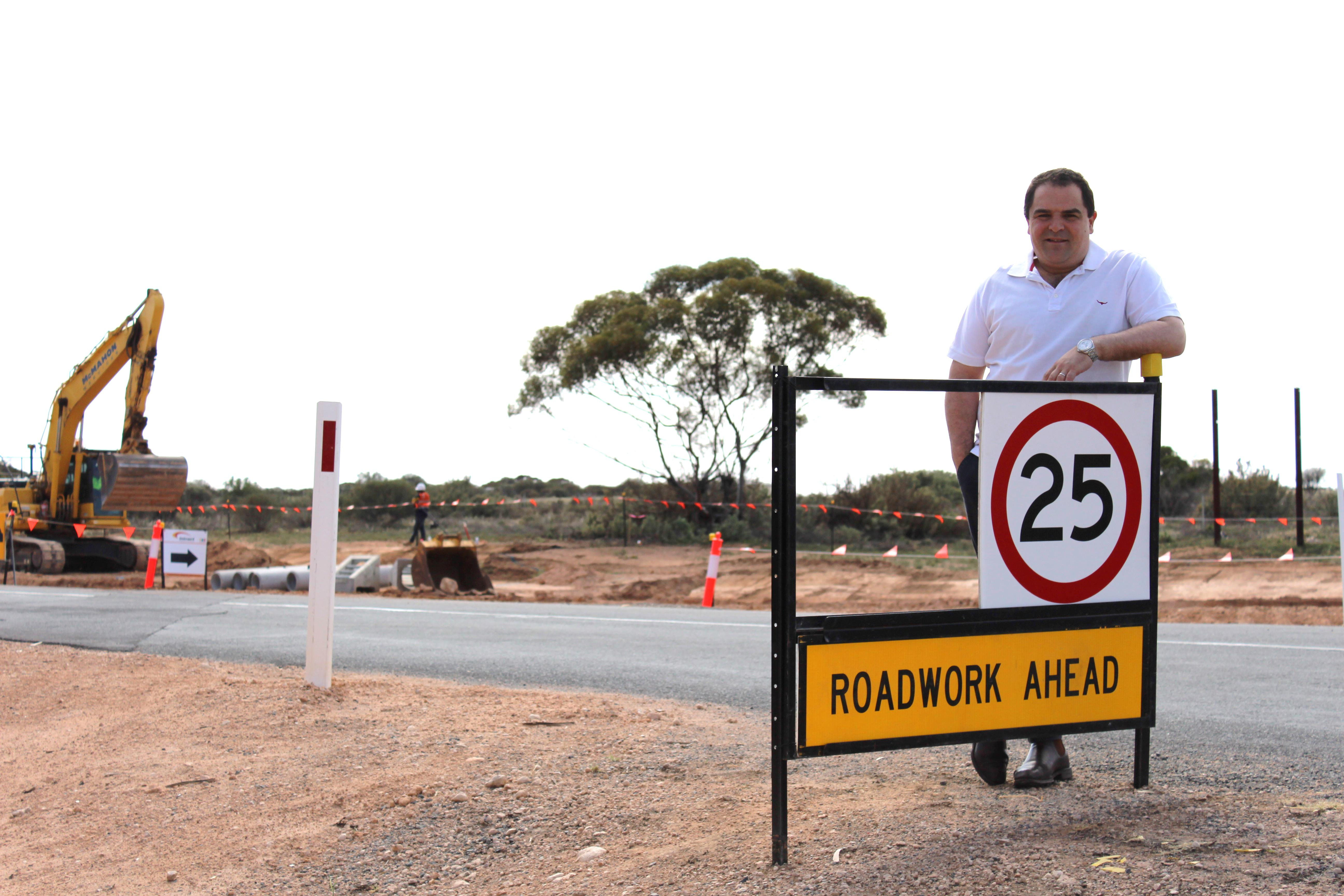 PASIN WELCOMES WORKS ON STURT HIGHWAY