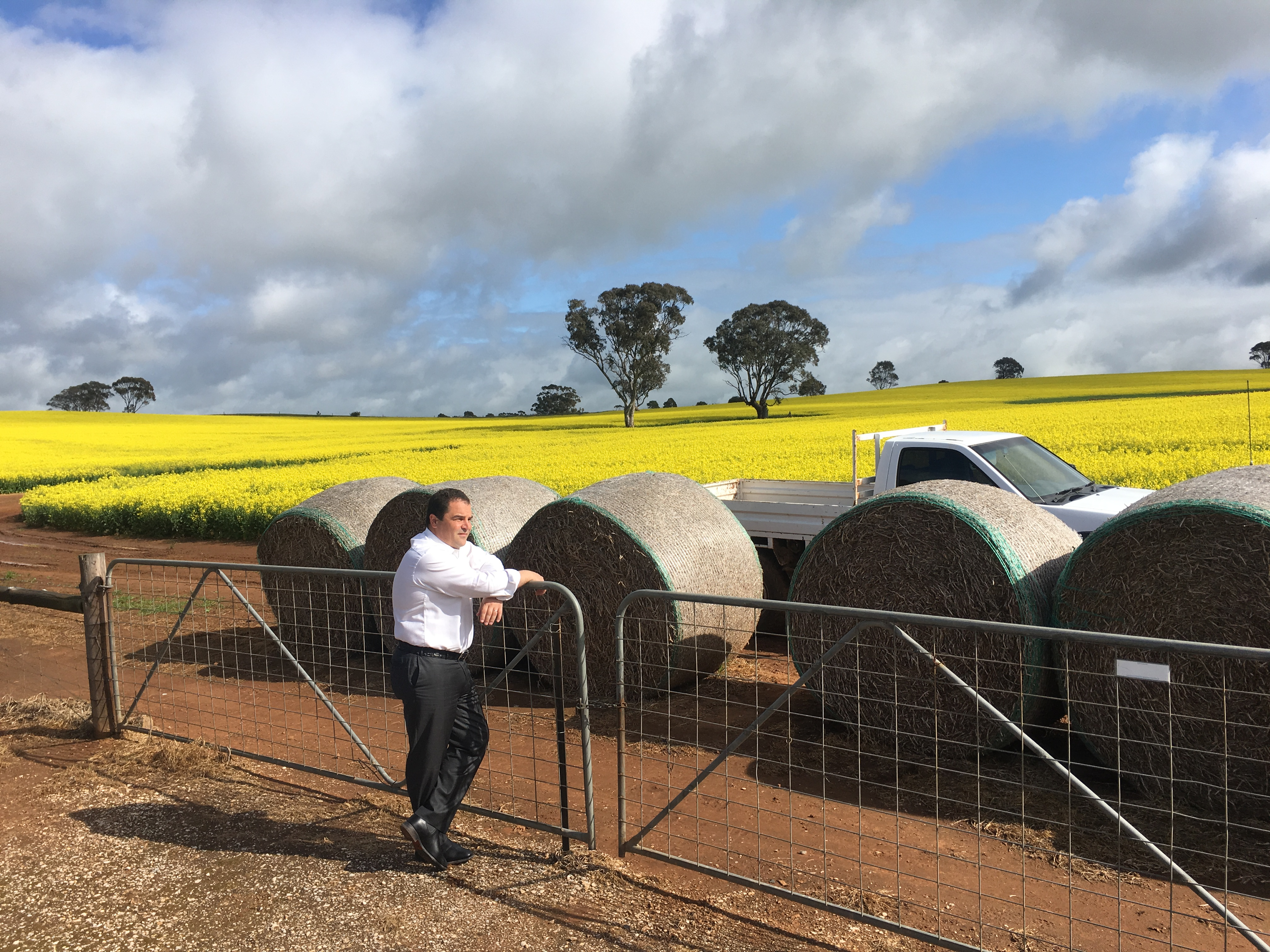 Pasin welcomes Federal Government assistance for farming smarter, not harder in Barker
