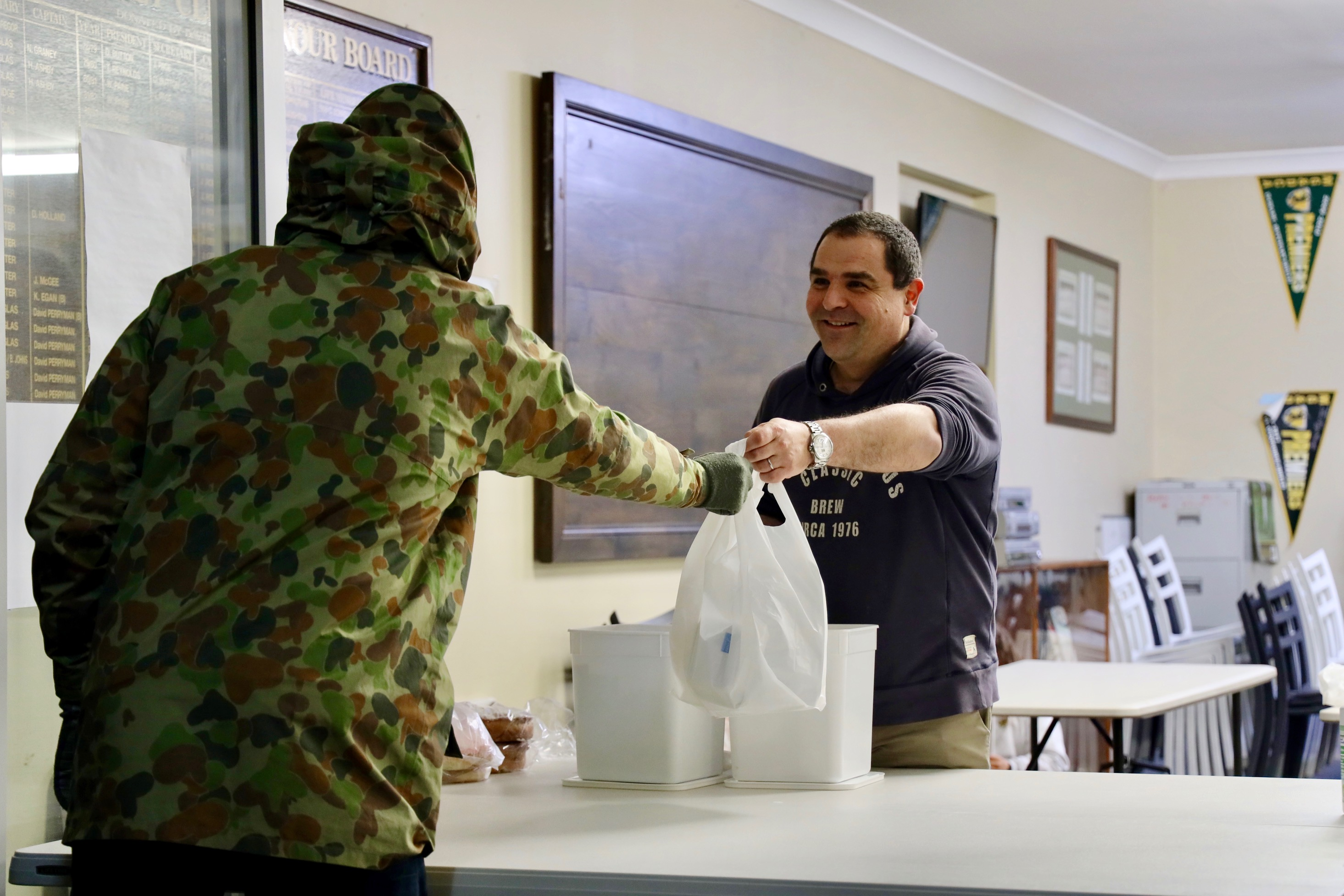 PASIN LENDS A HAND AT SUNSET COMMUNITY KITCHEN