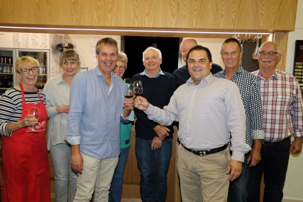 PASIN DELIVERS FOR COONAWARRA COMMUNITY CLUB