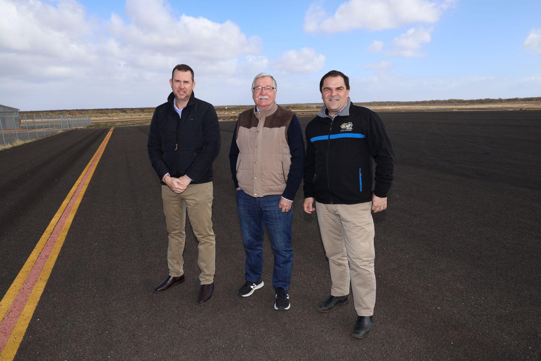 VITAL FUNDING FOR RENMARK AIRPORT